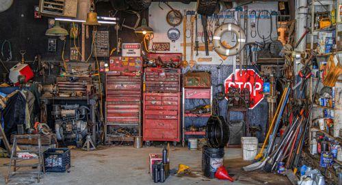 Kako organizirati svojo garažo?